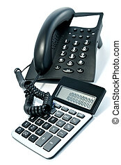 Telephone and the calculator-business attributes
