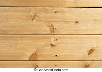 Cedar Boards - Wooden Cedar Deck Boards Nailed For...