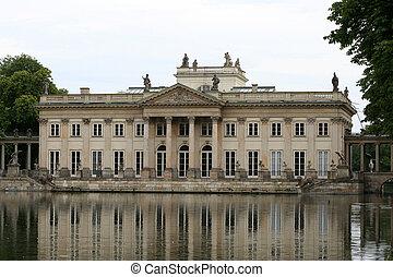 Lazienki palace - Summer residence of King Jan III Sobieski...