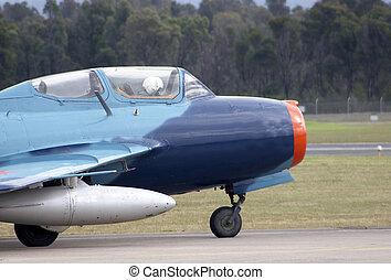 MIG-15 - Russian MIG-15 on the runway