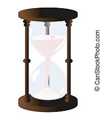 Hour Glass Illustration