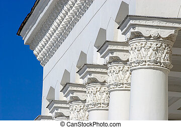 Classical architectural columns - Architectural...