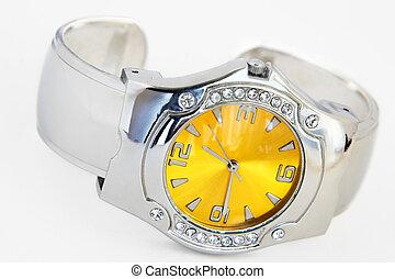 Wrist watch-artificial brilliants - Ladies\\\' wrist watch...