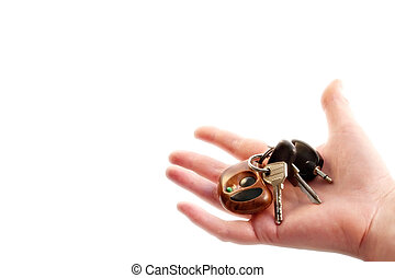 Car keys as a dream and  symbol of well-being