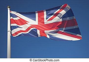 British Union Jack - The Union Jack flag of the UK.
