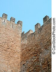Fortress Wall - The wall of a historical fortress