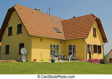 House - yellow House