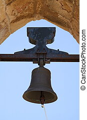 The bell - Old historical bell hanging in a tower