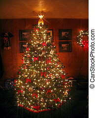Chistmas Splendor - Christmas tree with Angel displaying...