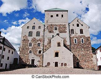 Turku castle in Finland