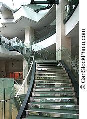 Modern stairs - Modern glass stairways