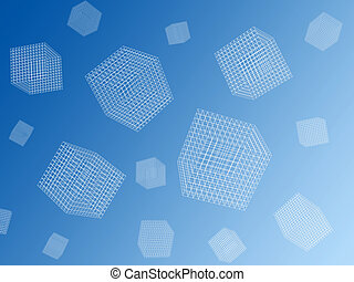Wire cubes