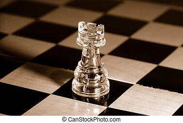 Rook - Photo of a Chess Piece - Rook