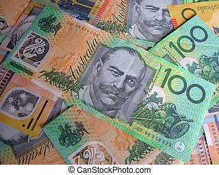 Money Background - Australia Currencies