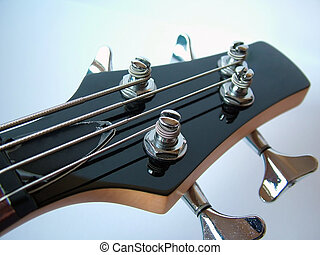 Bass Guitar - Guitar Head Stock