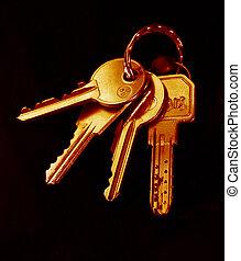 House Keys - House keys - warm tones