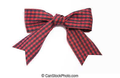 Bowknot aganist white background