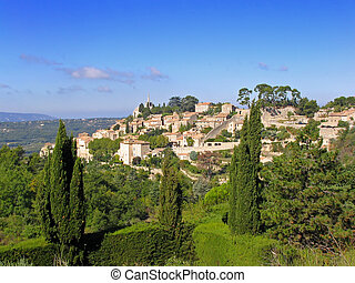 Bonnieux Provence, France - Bonnieux, one of the most...