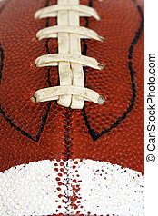 Football - Closeup of american football