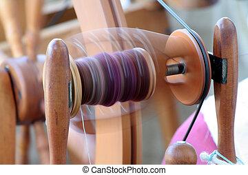 spinning machine - antique spinning machine
