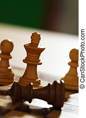 Chess match - Winning the chess battle