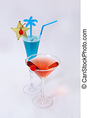 Cocktails - Red Blue cocktails