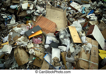 garbage - waste products(special photo f/x)