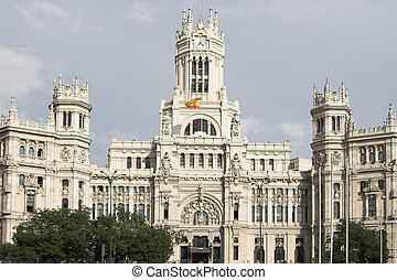 Madrid , post office