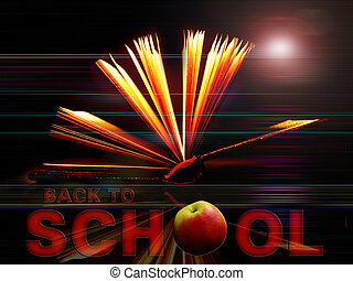 quot;Back to Schoolquot; bac - Back to School background...