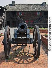 Cannon - Revolutionary war cannon