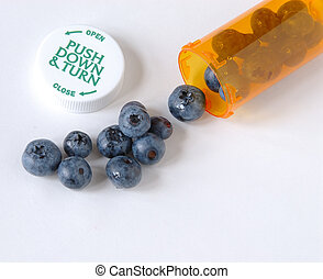 Blueberry Healthy Prevention - Blueberries neutralize free...