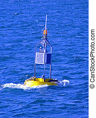 Beacon in a sea - Beacon in the middle of trembling sea