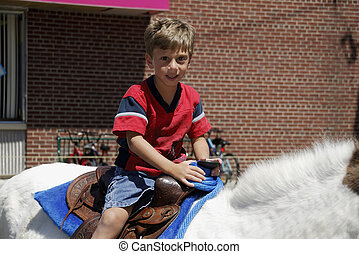 Horseback Riding - Child on a Horse