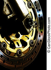 Disc Brake - Picture of a motorcycle disc brake