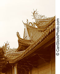 "Pagoda\""s roofPagoda - Detail of a pagoda\\\'s roof"