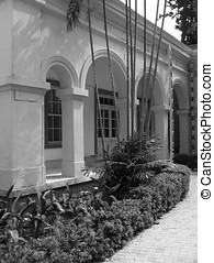 Colonial Architecture - -- from around 1900, built by the...