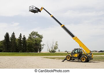 Cherry Picker - A cherry picker, also known as a...