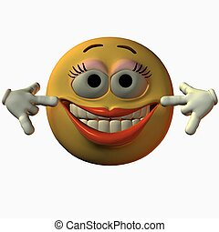 Smiley-Smile - 3D Render