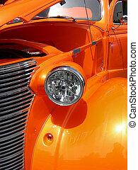 Antique Orange - Antique 1938 coupe