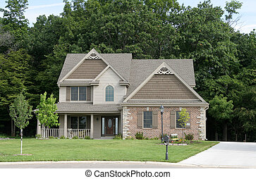 Suburban Home 1 - one of several suburban homes