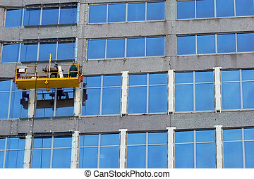 Washermen of windows - High-altitude washermen of windows