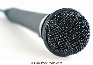 Microphone - Studio microphone close-up