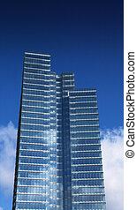 modern building in brussels, belgium