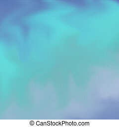 Digital Backdrop - Blues and turquoise mixed for background...