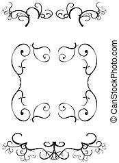 Decorative Borders - Ornate decorative borders