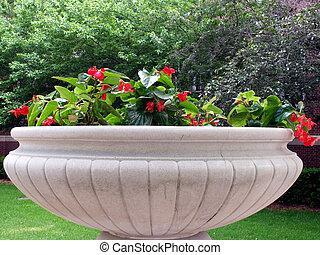 Big Pot - Large concrete flower pot
