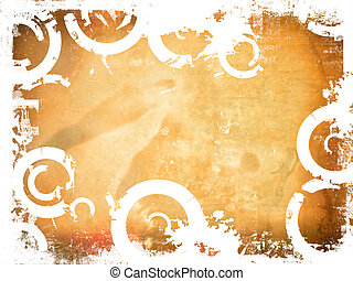 Grunge background - Winter style grunge background