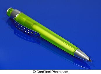 Ballpoint - Green Ballpoint Pen