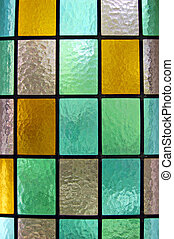 Stained glass window - Decorative window