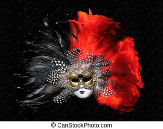 Venetian Mask - Venetian mask on black